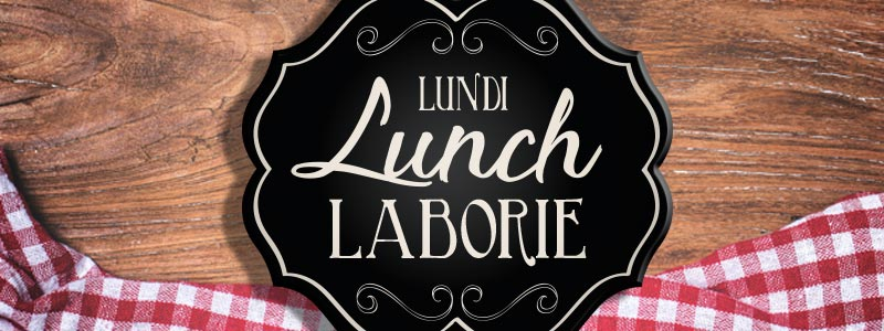 lundi lunch laborie